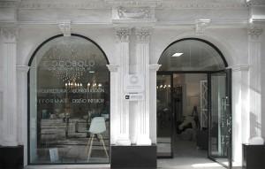 reforma fachada de empresa arquitectura y construcción en granada